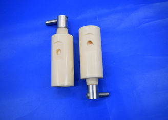 Customized high precision white ivory 95%-99.99% ceramic plunger pump
