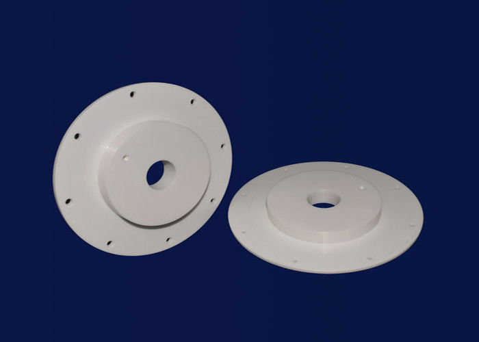 High Hardness Ceramic Disc Ceramic Washers For Chemical Industry Equipment