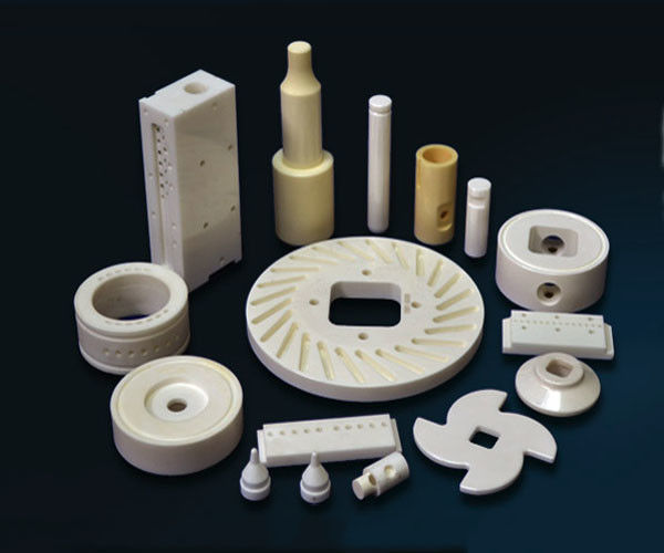 Customized Zirconia / Alumina Ceramic Parts Industrial Advanced Ceramics Manufacturing