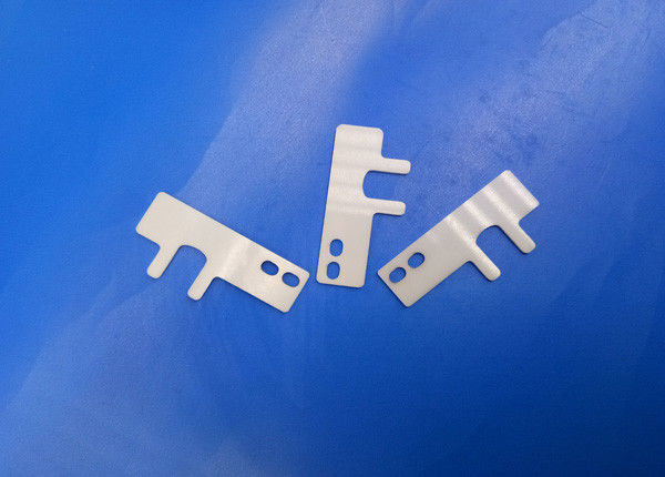 High Corrosion Zirconia Ceramic Parts Wear Resistance Thin Slider Spacing / Spacer